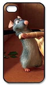icasepersonalized Personalized Protective Case for iphone 4/4s - Cartoon Ratatouille Mouse Movies