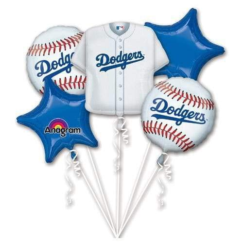 Anagram 32036 Los Angeles Dodgers Balloon Bouquet, Multicolored]()
