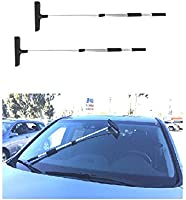3 Set UI PRO TOOLS Extendable Up to 36 Inches Pole Telescopic Handle Squeegee Window Glass Cleaner Car Auto Truck Windshield Squeegee