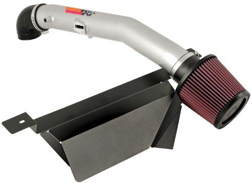 (K&N Typhoon Cold Air Intake Kit + Filter Silver 69-8432TS for 06-09 Pontiac Solstice 2.4L L4)
