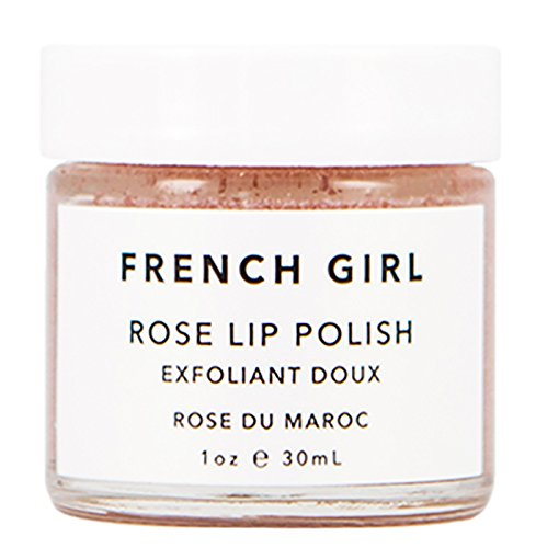 French Girl Organics - Organic/Vegan Rose Lip Polish (1 oz / 30 ml)