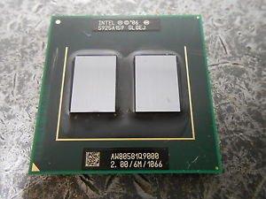 (INTEL SLGEJ Intel 6MB Q9000 Core 2 Quad 1066MHx 2GHz CPU New SLGEJ Intel-Q9000-SLGEJ-2-0GHz-Core-2-Quad-CPU-Mobile-Processor-Socket-478 )