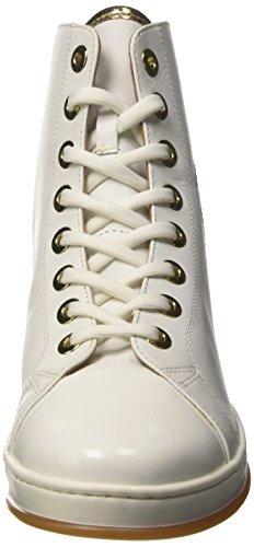 Sneaker Ottico Bianco Donna Collo Alto Twin Set a Cs8pja Bianco UATEzEq
