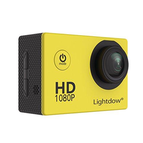 Lightdow LD4000 1080P HD Sports Action Camera Kit - DSP:NT96650 + 1.5