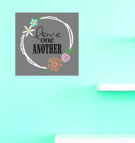 Multi 20 x 20 Design with Vinyl US V JER 3377 4 Top Selling Decals Love One Another Wall Art