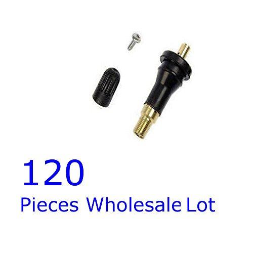 120 pcs TPMS Valve Stem Rebuild Kit 20008 Tire Pressure Sensor Service Pack Kit by RPG