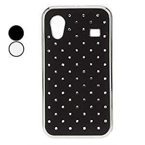 Starry Sky Pattern Hard Case with Rhinestone for Samsung Galaxy Ace S5830 (Assorted Colors) , White