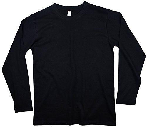 Earth Elements Men's Long Sleeve T-Shirt Large Black
