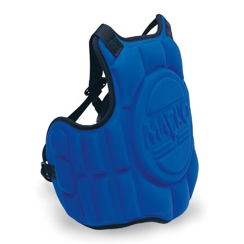 Macho Hogu Chest Protector - Macho Molded Karate / Taekwondo Chest Protector - Blue - Child