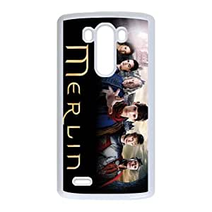 Merlin LG G3 Cell Phone Case White T7L5ZZ