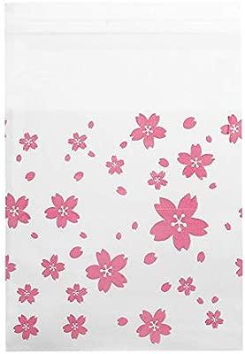 Bolsas con Cierre Hermetico Transparentes Bolsas de Plastico de Cierre Automatico 100 Piezas, bolsa de caramelos, patrones de flores de cumpleaños ...