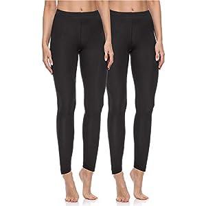 Merry Style Lot de 2 Legging Long Tenue Sport Femme MS10-198