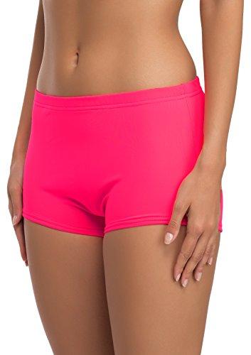 3228 Trajes De Baño Rosa Mujer Merry Deportivos Bañadores Neón L23l1 Style Modelo Shorts Tnqf7U