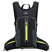 Fistcale Lightweight Breathable Bike Backpack, 8L Foldable Running Daypack, Functional Gift for Men & Women Daily…