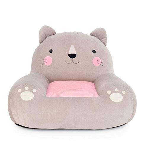 (Childrens Sofa,Kids Sofa Armchair Cartoon Girl Mini Couch Seat, Seat Cushion Removable Mini Armchair,A,W60xH48cm(24x19inch))