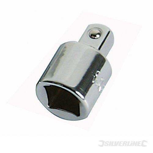 Silverline 793755 - Adaptadores para llaves de vaso, 4 pzas product image