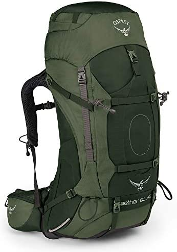 Osprey Packs Aether AG 60 Men s Backpacking Backpack