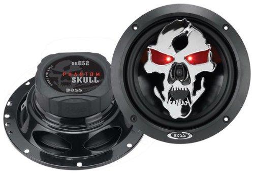 Boss Audio SK652 300 Watt (Per Pair), 6.5 Inch, Full Range, 2 Way Car Speakers (Sold in Pairs) - Honda Odyssey Speakers