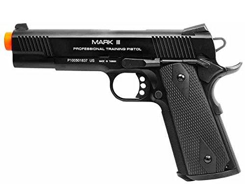 kwa m1911 mkiii ptp blowback, metal gas pistol airsoft gun(Airsoft Gun)