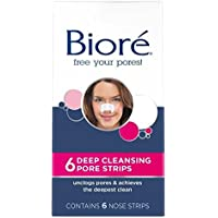 Biore Deep Cleansing Pore Strips 6 Pack