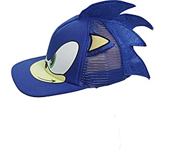 Amazon Com Sonic The Hedgehog Hat Adjustable Game Cosplay Baseball Hat Cap Blue Beauty