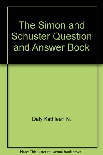 Link On The Simon And Schuster Question And Answer Book