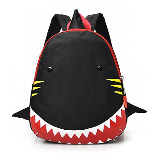 Children Backpack Rose for Shark Red Schoolbag Bags Children School Kids Nylon Wanfor Student Cartoon Kids Backpack 8xqBP