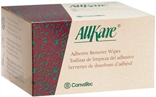 ConvaTec AllKare Adhesive Remover Wipes 37443 100 Each (Pack of 4) by ConvaTec