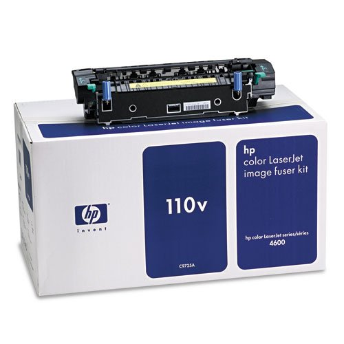 - HP C9725A Toner Fuser Kit, F/4600 Series, 110V, 150000 Page Yield