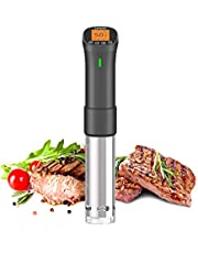 Inkbird Sous Vide Cooker, 1000 Watts Wi-Fi Precision Cooker ISV-200W, Accurate Temperature & Timer Control, 3D Immersion Circulator Slow Cooker for Sous Vide Food Steak Beef Chicken Fish Vegetables Eggs
