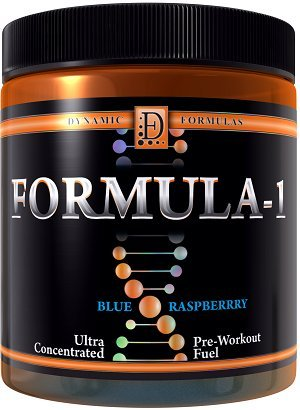 Dynamic Formulas Formula-1 Ultra-Concentrated Pre-Workout Fu