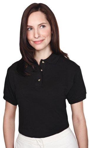 Tri-mountain Womens 60/40 pique golf shirt. 102TM - PURPLE_2XL