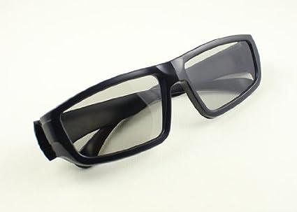 Dos pares de gafas pasivas polarizadas 3D para el uso de 3D Blu-ray,