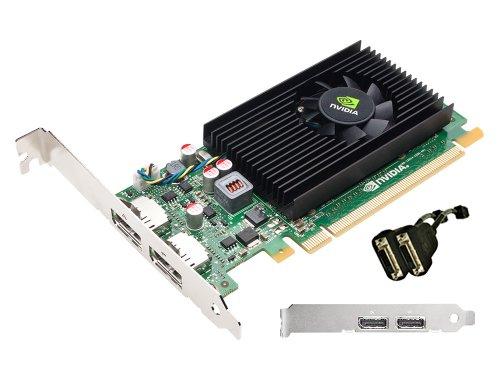 (PNY VCNVS310DVI-PB Quadro NVS 310 Graphic Card - 512 MB DDR3 SDRAM - PCI Express 2.0 x16 - Full-length/Low-profile - 2560 x 1600 - Fan Cooler - DirectX 11.0, OpenCL,)