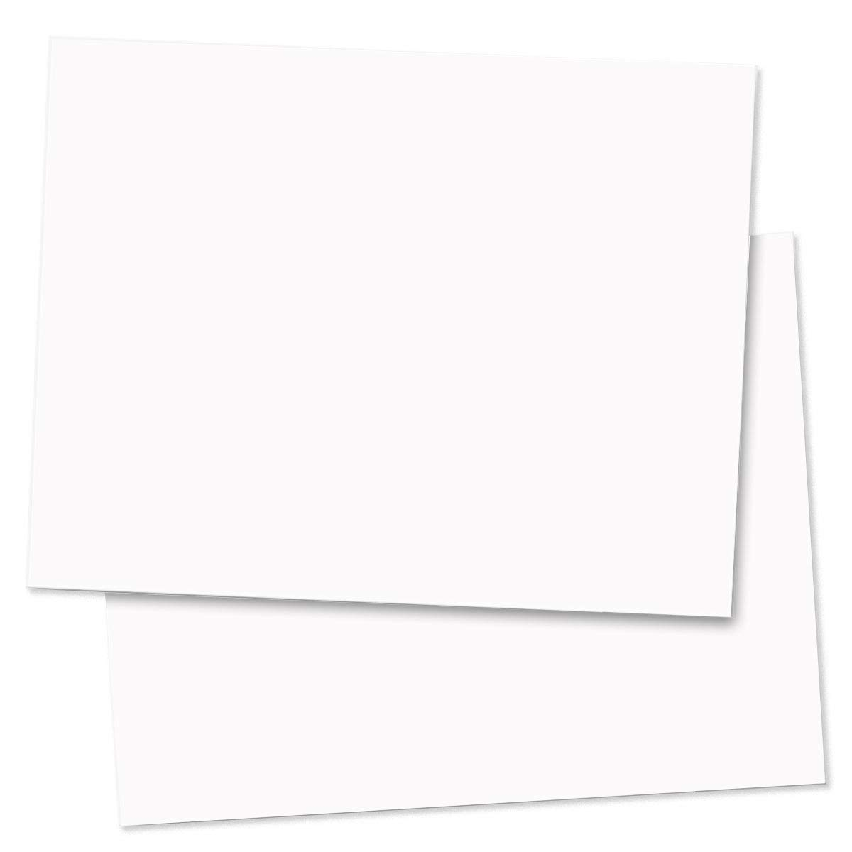 White Perfectly Plain Postcards, Standard Size, 1200 Count