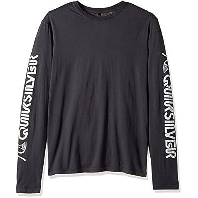 Hot Quiksilver Men's Early Daze Long Sleeve mux Tee T-Shirt free shipping