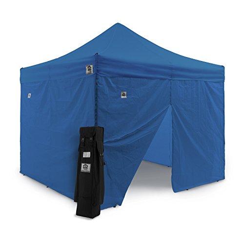 Impact Canopy 10 X 10 Ez Pop Up Canopy Tent Gazebo Bundle