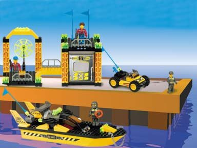 LEGO Jack Stone Res-Q Super Station. Model 4610***RARE***