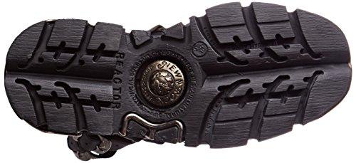Schwarz Boots M Schwarz Black New Biker 001 Unisex Erwachsene s28 Rock 373x TZtqx08tw
