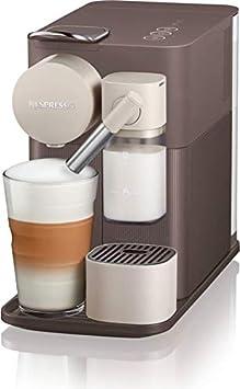 Cafetera con cápsulas con Nespresso + para leche en 500.BW Lattissima One Marrón: Amazon.es: Hogar