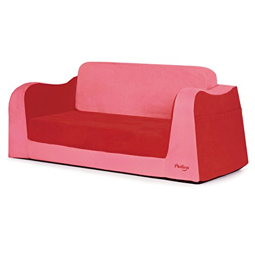 P'kolino Little Sofa / Sleeper - Red by P'Kolino