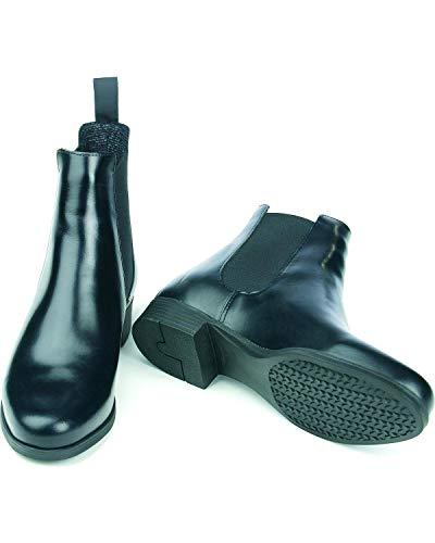 Ovation Finalist Ladies Elastic Side Jodphur Boots - Black ()