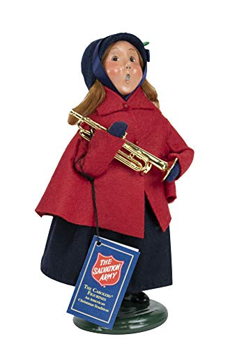 Byers' Choice Salvation Army Girl Caroler Figurine from The Salvation Army Collection #4413E (New 2019)