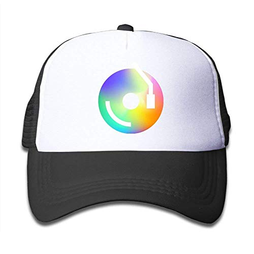 Ggkg Caps Vinyl Retro Icon Funny Girls Mesh Hat Baseball Caps Adjustable Trucker Cap
