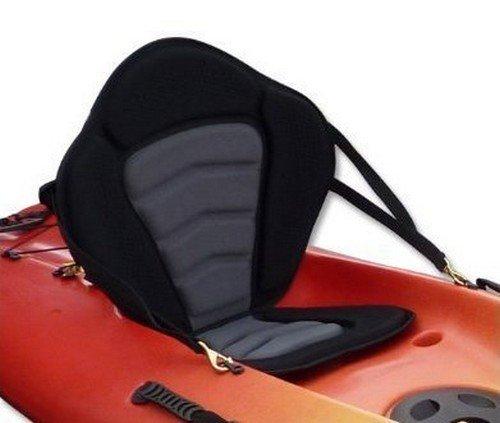 Pactrade Marine Adjustable Padded Deluxe Kayak Seat Detachable Back Backpack/Bag Canoe Backrest