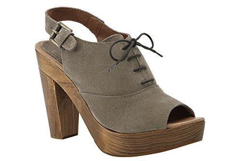 Best Connections Sandalette - Sandalias de Vestir de cuero Mujer marrón - Marron - Taupe