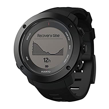 Suunto Ambit3 Vertical HR Multifunction Watch, Black (SS021964000)