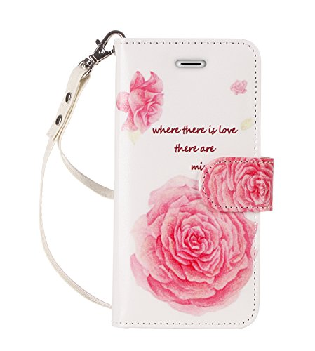 iPhone 7 Plus Case, FYY [RFID Blocking wallet] 100% Handmade Wallet Case Stand Cover Credit Card Protector for iPhone 7 Plus Fashion 4