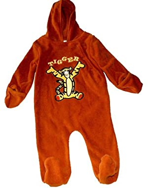 Tigger Baby-boys Infant Hooded Microfleece Pram