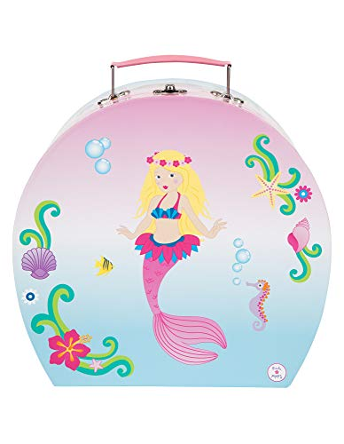 Pink Poppy Mystic Mermaid Tea Set in Carry Case- Pale Pink]()